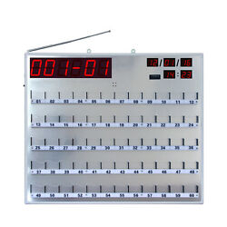 Singcall Wireless Calling System Hospital Board Receiver Ape8800 With 60 Lights