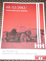 H And H Auction Catalogue December 2012 Newbury Classic And Collectors Motor Cars