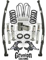 Chevy S10 4/5 Lowering Kit 1982-2004 Ext Cab W/ Performance Shocks Belltech
