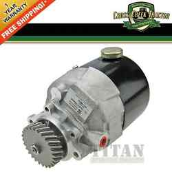 F2nn3k514aa New Power Steering Pump For Ford Tractors 455d, 555d, 575d, 675d