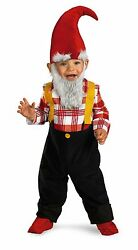 Garden Gnome Boys Costume Toddler Size 2T Kids Costumes