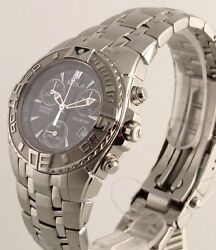 Sector Watch 650 Chronograph Mens S Men Swiss SAPPHIRE CRYSTAL Stainless Steel