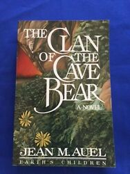 The Clan Of The Cave Bear - Advance Reading Copy Signed By Jean M. Auel