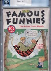 Famous Funnies 13 1935 Pgx 6.5 Scarce Nicest Known