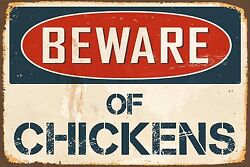 Beware Of Chickens 8