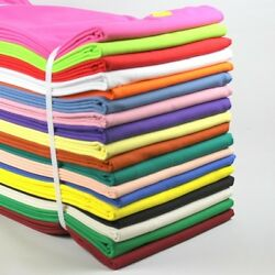 100% Cotton Sewing amp; Quilting Fabric Solid Color BTY