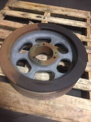 Foundry Shaker Pulley 22 Heavy Duty Pulley 5-1/8 Bore Aggregate Plant Pulley
