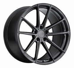 20 Staggered Tsw Bathurst Gunmetal Wheels Rims Tires Package 5x4.5 Ford Mustang