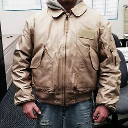 Nomex Cwu45/p Cold Weather Flyerand039s Jackets Mil.issue Xl New Free Ship Lot Of12
