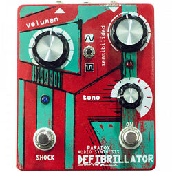 Paradox Dfibrillator Fuzz Multi Guitar Effects Pedal Stompbox Footswitch