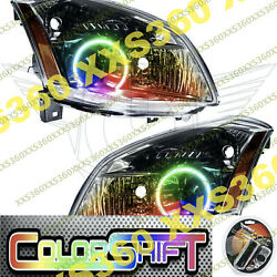 Oracle Halo 2x Headlights For Nissan Maxima 07-08 Colorshift Led 1.0 Angel Eyes