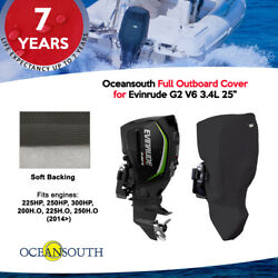 Oceansouth Outboard Full Cover For Evinrude G2 V6 3.4l 25