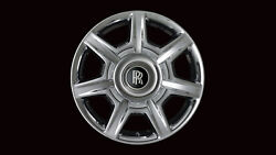 Rolls Royce Light Alloy Chrome Plated Front Wheel Style 274 36-31-6-773-353