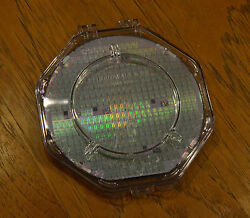 6 Silicon Wafer - Performance Semiconductor Pr3400 Cpu - Decstation 5000