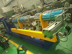 Single Screw extrusion line for Soft PP crushed material