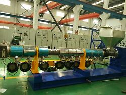 Single Screw extrusion line for Soft Special for AS crushed material.