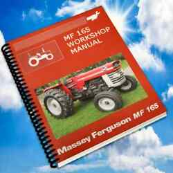 Massey Ferguson 165 150 175 Tractor Service Manual Parts Ops Engines Manuals