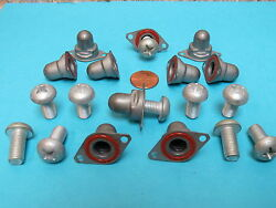 5/16-24 Self Sealing S.s. Capped Boeing Aerospace Nutplates With Screws 10+10