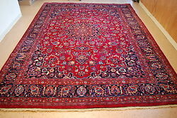 C1930s Antique Highly Detailed Dorukhsh Rug 9.7x12.7 Room Size_vegy Dye