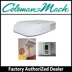 Coleman Mach8 15K Ducted Low Profile AC wHeat Pump- Roof Ceiling Thermostat
