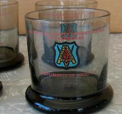 6 Los Angeles Carpenters Union Local 710 Teamsters American Flint Glass Cocktail