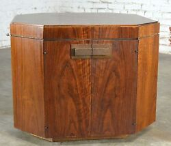 On Sale Fabulous Vintage Founders Furniture Cabinet Style End Table Chest
