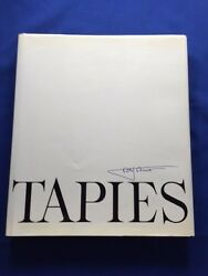Tapies - Limited Edition 40 Of 50 Copies With Signed Print By Antoni Tapies