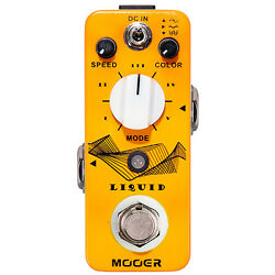 Mooer Liquid Digital Phaser Guitar Effects Pedal Stompbox Footswitch True Bypass