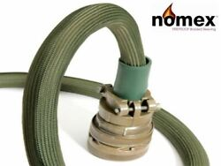 Nomex Braided High Temp Braid Thick-wall Sleeving - Various Sizes And Lengths