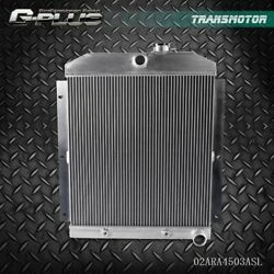Fit For Chevy 3100/3600/3800 Truck Pickup L6 Aluminum Race Radiator 1947-1954 47