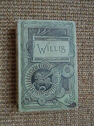 Poems Of Nathaniel Parker Willis, Rare Collectible Pre-1867