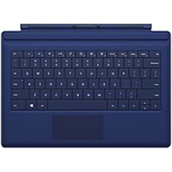 Microsoft Keyboard/cover Case For Tablet - Blue - Bump Resistant Scratch Resist