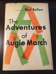 The Adventures Of Augie March - Saul Bellow Signed, First Edition