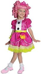 Jewel Sparkles Lalaloopsy Rag Doll Fancy Dress Up Halloween Deluxe Child Costume