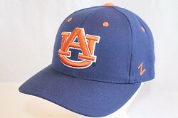 Auburn Tigers Hat Cap The Blue Dh Fitted Ua Cap By Zephyr Ncaa Caps