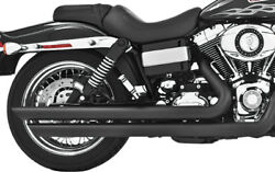 Freedom Performance Patriot LG Exhaust Black For 2006-2016 Harley-Davidson Dyna