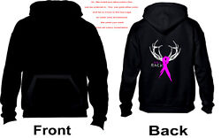 Save A Rack Hoodie - Breast Cancer Awareness - (1019) $29.49