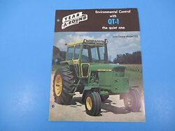 Original 1960and039s Year-a-round Tractor Cab Enclosure John Deere Ad Model 112 M1412