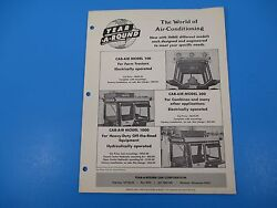 Original 1950and039s Year-a-round Tractor Cab Enclosure Ad Deere Oliver Ford M1414