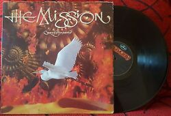 Gothic Rock THE MISSION **Carved In Sand** SCARCE 1990 Venezuela LP ON MERCURY