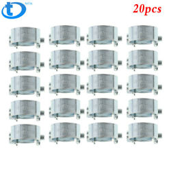 New 20pcs 3/8fuel Injection Hose Clamp / Auto Fuel Clamps Usa