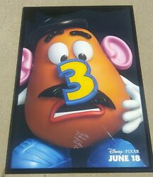 Toy Story 3 Don Rickles Signed + Framed 27x40 Movie Poster Potato Head