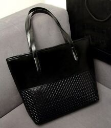 Fashion European and American Women Handbags Leather Criss cross Shoulder Bag $28.50