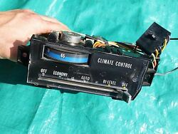 OEM 1977-1979 Cadillac Seville Climate Control AC Heater Unit Dash 1977 1978