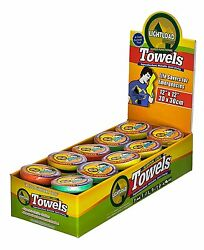 50 Piece Display 12x12 Extreme Life, Space And Weight Savers Lightload Towels