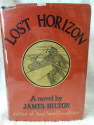 JAMES HILTON 1st in RARE dj LOST HORIZON Morrow 1933