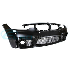 BMW M3 Style Front Bumper for F30  F31 w Fog Covers + Sensors