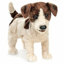 Folkmanis Jack Russell Terrier Hand Puppet Smooth Coat