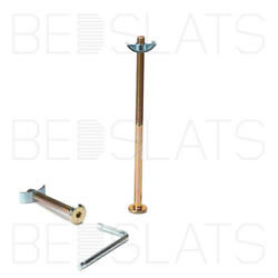 M6 X 130mm Connector Bolts With Half Moon Nut Ideal For Beds Cots And Furniture