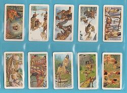 People - Brooke Bond Canada - Scarce Set Of 48 Indians Of Canada Cards - 1974